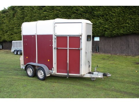 Photo of Used Ifor Williams HB505 Red Double Horse Trailer