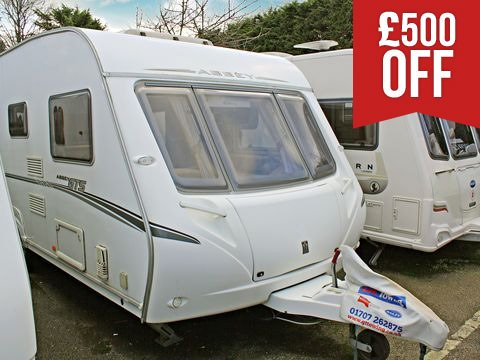 Photo of Used Abbey GTS 418 - 2007 Caravan - 4 Berth Fixed Bed