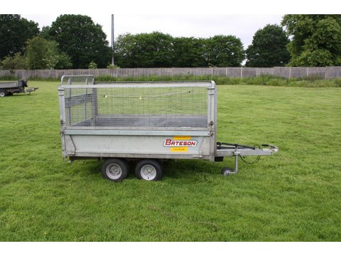 Photo of Used Bateson Unbraked Twin Axle Tipper Trailer