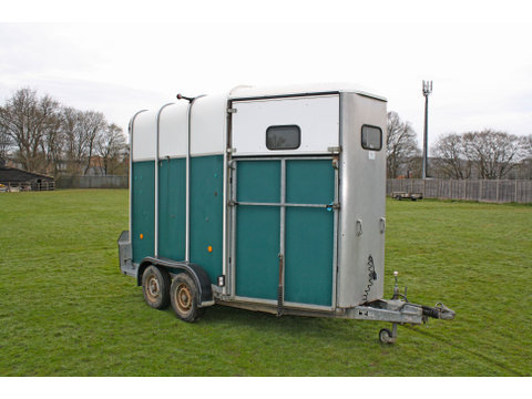 Photo of Used Ifor Williams HB510 Green Double Horse Trailer