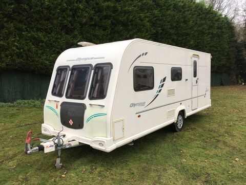 Photo of Bailey Olympus 525 - 2010 Caravan - 5 Berth Family Layout