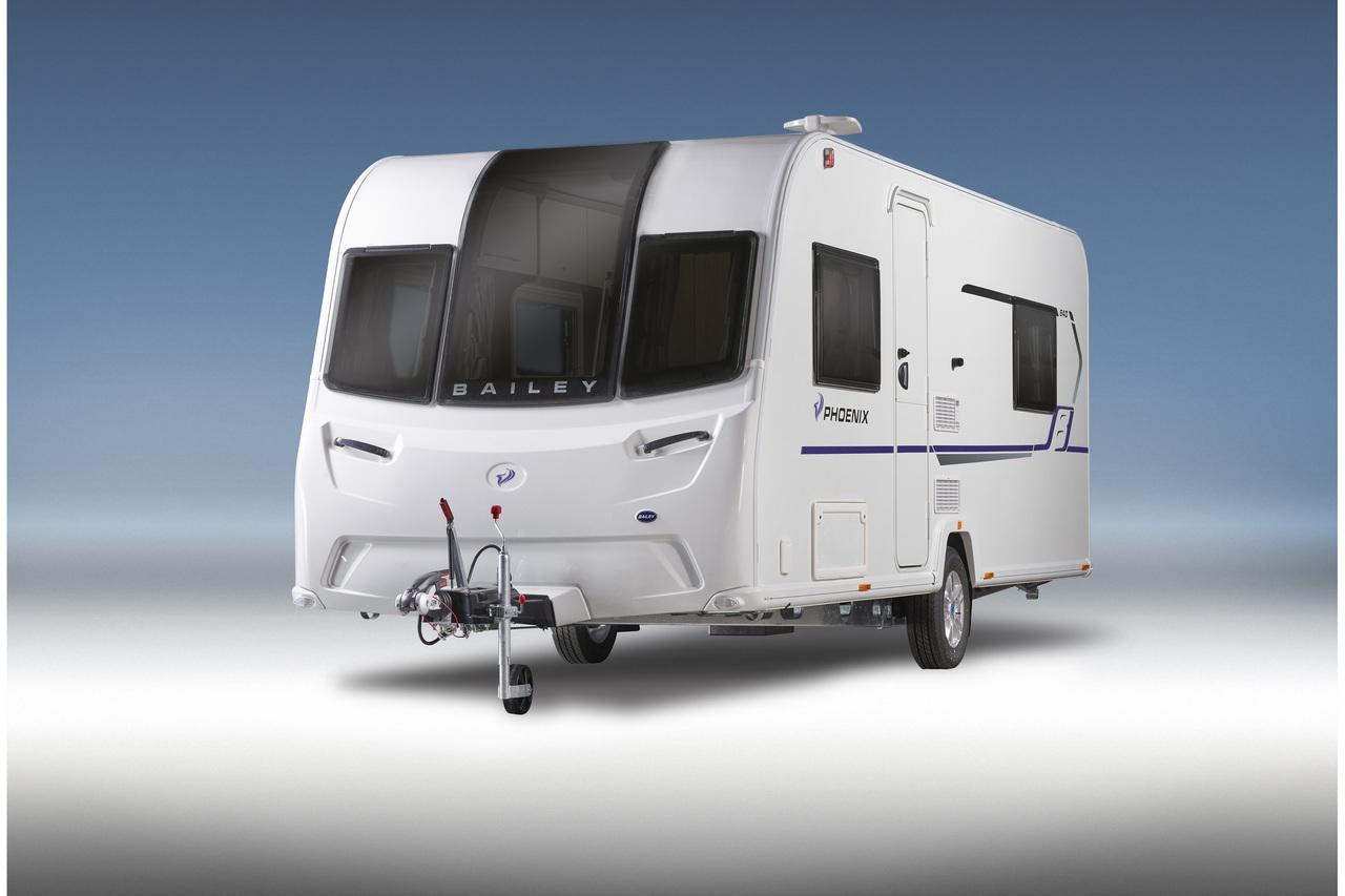 New Bailey Phoenix 640 2019 Caravan Rear