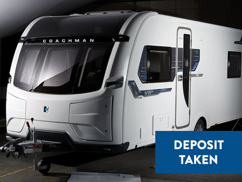 Photo of New Coachman VIP 460 - 2019 Caravan - 2 Berth End Washroom