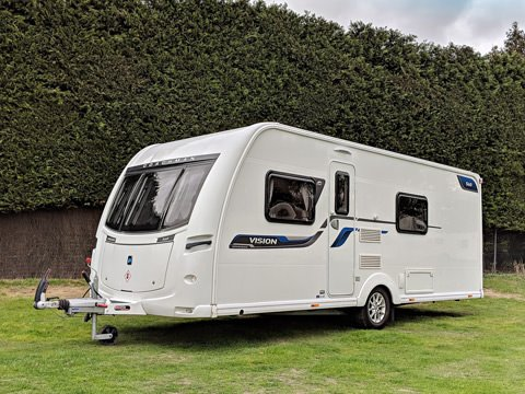 Photo of Used Coachman Vision 560-4 - 2016 Caravan - 4 Berth Fixed Bed