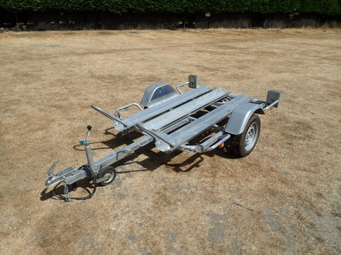 Photo of Used 2018 Lider HD Double Motor Cycle / Motor Bike Trailer