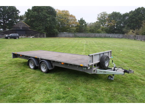 Photo of Used Ifor Williams 2014 LM166G Flatbed Trailer