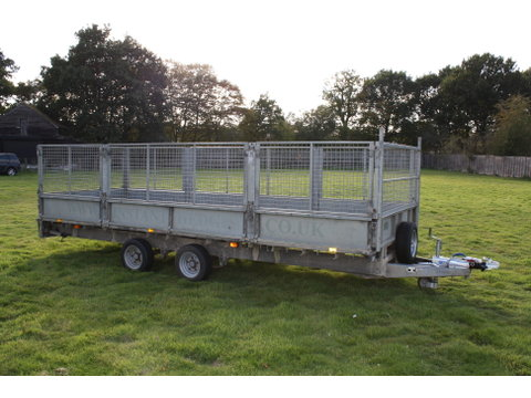 Photo of Used Ifor Williams LM186G Flatbed Trailer