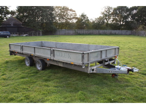 Photo of Used Ifor Williams LM187G Flatbed Trailer