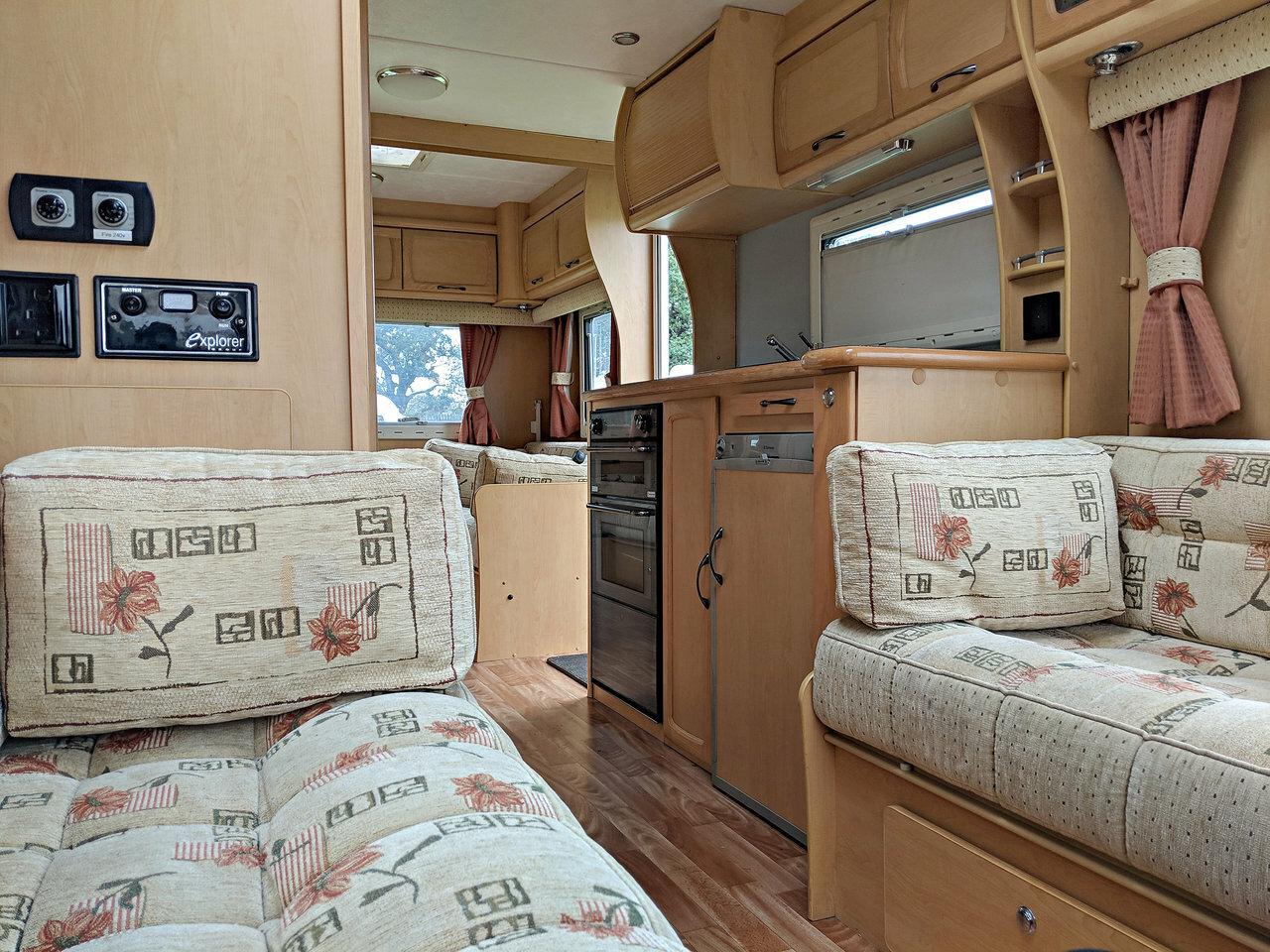 Used Elddis Odyssey 505 2005 Caravan 5 Be