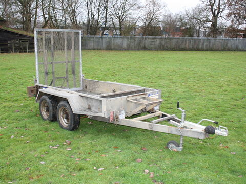 Photo of Used Indespension All Dig 8ft x 4ft Plant Trailer