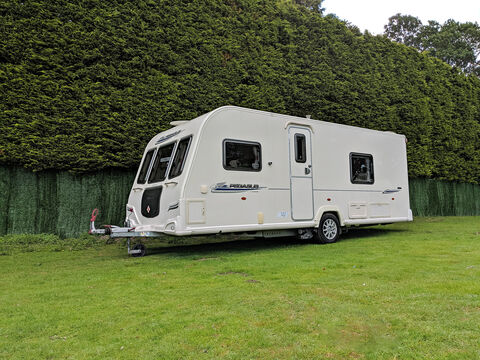Photo of Used Bailey Pegasus 534 - 2011 Caravan - 4 Berth Fixed Bed