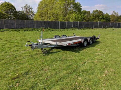 Photo of Used Brian James A4 125-2323 Car Trailer