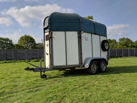 Photo of Used Rice Continental Small Double Horse Trailer