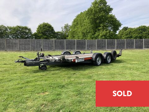 Photo of Ex-Hire Brian James A4 125-2212 Car Transporter Trailer (CT4)