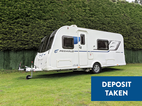 Photo of Used Bailey Pegasus Modena - 2016 Caravan - 4 Berth End Washroom