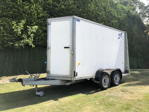Photo of Used Ifor Williams BV105G Twin Axle Combination Ramp Door Enclosed Trailer