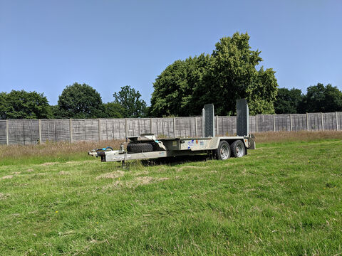 Photo of Used Ifor Williams 3500KG GH1054 Plant Trailer