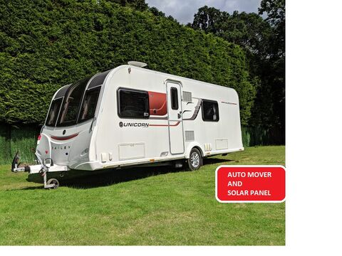 Photo of Used Bailey Unicorn S3 Valencia - 2015 Caravan - 4 Berth Fixed Bed