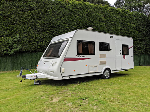 Photo of Used Elddis Xplore 495 - 2010 Caravan - 5 Berth Double Dinette