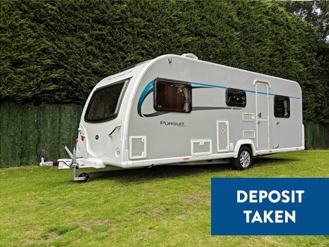 Photo of Used Bailey Pursuit 560 - 2016 Caravan - 5 Berth Double Dinette