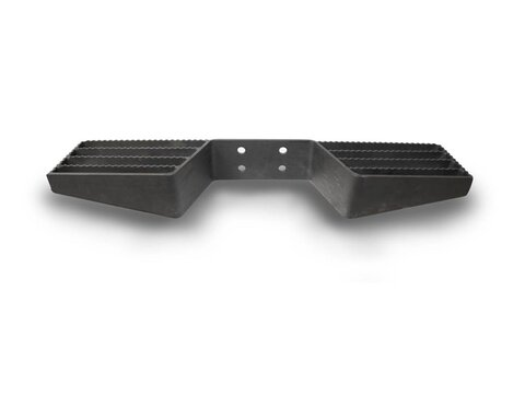Photo of Heavy Duty Double Sided Open Tread Black Towbar Step