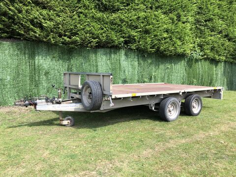 Photo of Used Ifor Williams LM126G Flatbed Trailer