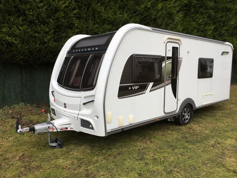 Photo of Used Coachman VIP 565 - 2012 Caravan - 4 Berth End Washroom