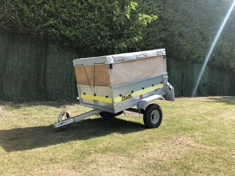 Photo of Used Franc GE133 Luggage / Baggage Trailer