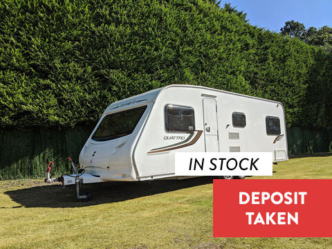 Photo of Used Sprite Quattro FB - 2010 Caravan - 6 Berth Fixed Bed