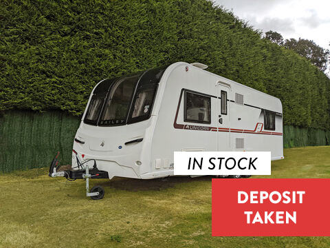 Photo of Used Bailey Unicorn S4 Pamplona - 2018 Caravan 4 Berth End Bedroom