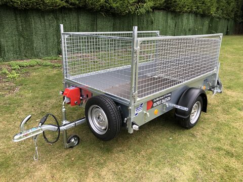 "Photo of Ifor Williams P7e (7ft 3"" x 4ft 1"") Unbraked Goods Hire Trailer"