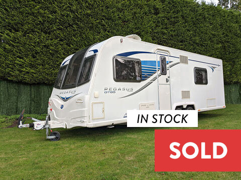 Photo of Used Bailey Pegasus GT65 Bologna - 2013 Caravan 4 Berth End Washroom