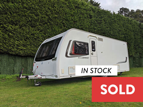 Photo of Used Lunar Clubman SI - 2013 Caravan - 4 Berth End Washroom