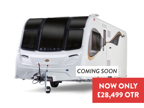 Photo of New Bailey Alicanto Grande Estoril - 2020 Caravan - 4 Berth End Washroom
