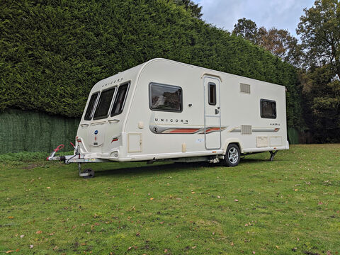 Photo of Used Bailey Unicorn Almeria - 2011 Caravan - 4 Berth Fixed Bed