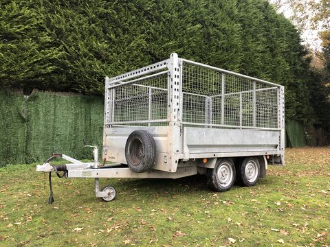 Photo of Used Brian James Cargo Compact 0400-0210 Flatbed 2.50m x 1.64m Trailer