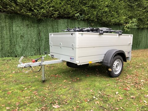 Photo of Used Anssems GT750 Luggage / Baggage Trailer & Thule Roof and Bike Racks
