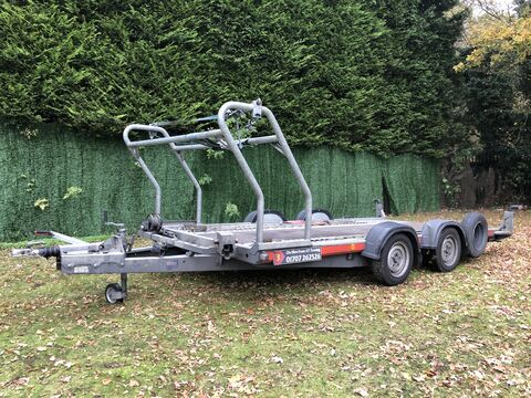 Photo of Ex-Hire Brian James A4 125-2212 Car Transporter Trailer (CT3)