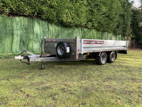 Photo of Used Brian James Cargo Compact 400-1410 Flatbed 3.00m x 1.64m Trailer