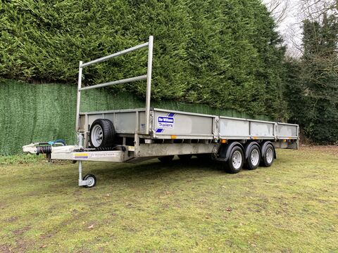 Photo of Used Ifor Williams LM186T Tri Axle Flatbed Trailer