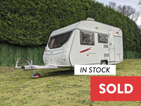 Photo of Used Lunar Chateau 400 - 2008 Caravan - 4 Berth