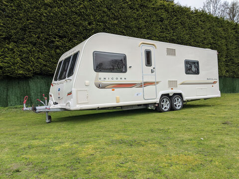 Photo of Used Bailey Unicorn Barcelona - 2011 Caravan - 4 Berth End Washroom
