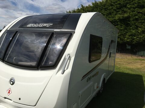 Photo of Used Swift Ace Ambassador - 2013 Caravan - 2 Berth End Washroom
