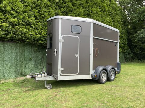 Photo of Used Ifor Williams HB511 Graphite Double Horse Trailer