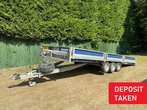 Photo of EX-HIRE Brian James Cargo Connect Tilt-Bed 475-6462 Flatbed 5.5m x 2.02m Trailer