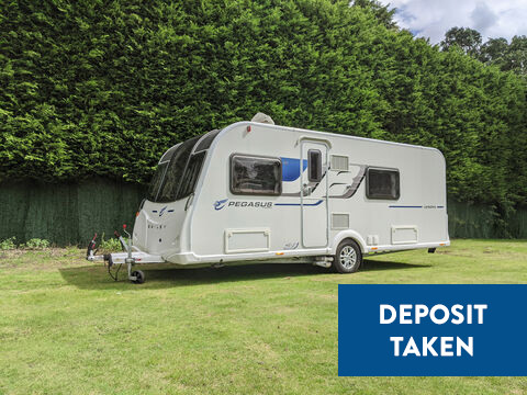 Photo of Used Bailey Pegasus Verona - 2016 Caravan - 4 Berth Fixed Bed