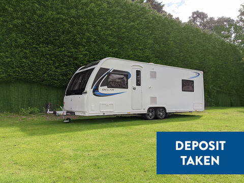 Photo of Used Lunar Delta TR - 2018 Caravan - 4 Berth Fixed Bed