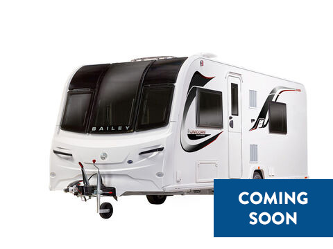 Photo of New Bailey Unicorn Black Cadiz - 2021 Caravan - 4 Berth Twin Fixed Single Beds
